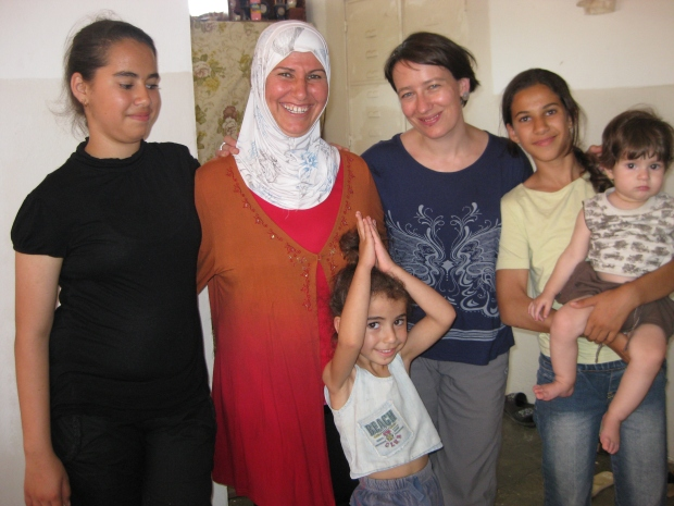 Jalela with family and Muireann
