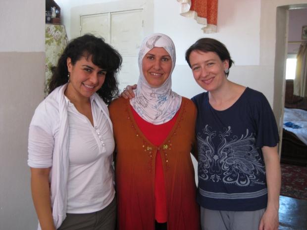 Lubna, Jalela and Muireann